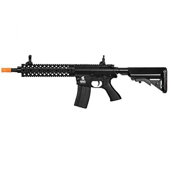 """Lancer Tactical Airsoft Rifle 5 Lancer Tactical LT-12B 10"""" Free Float Rail M4 Aeg Metal Gear Airsoft Gun Gear Airsoft Rifle Shooting Gun Machine"""