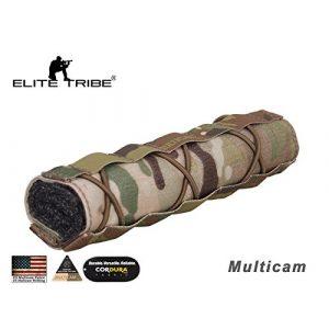 Elite Tribe Suppressor Cover 1 Paintball Equipment Tactical Emerson Airsoft 22cm Suppressor Cover Multicam
