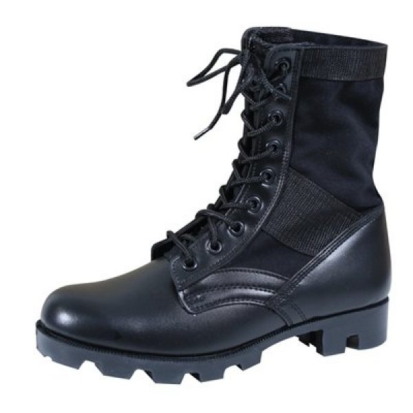 Rothco Combat Boot 3 Mens G.I. Style Jungle Boots, Black, 10 Wide
