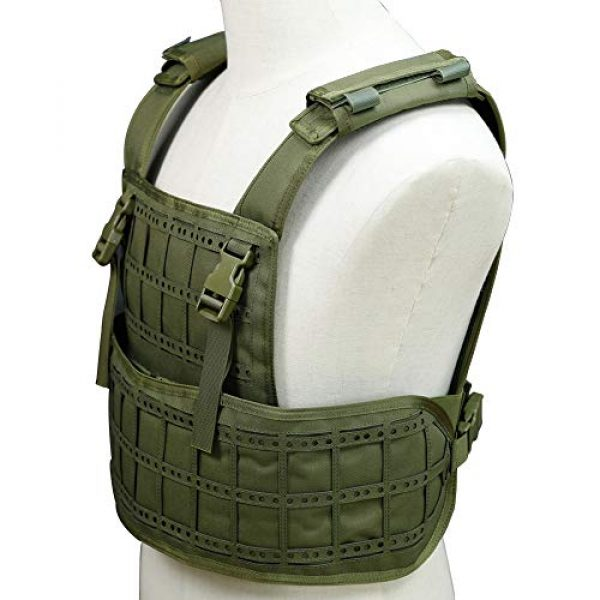BGJ Airsoft Tactical Vest 3 BGJ Airsoft Vest Tactical Vest Hunting Protection Military Molle Vest Adjustable Army Armor