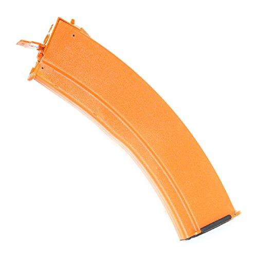 Airsoft Shopping Mall  1 Airsoft Shooting Gear CYMA RPK74 800rd Flash Mag Hi-Cap Magazine For AK Series AEG Orange Brown