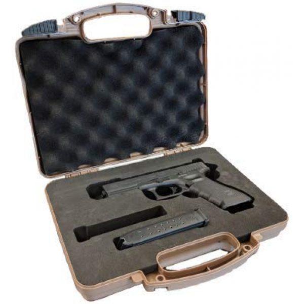 Cedar Mill Fine Firearms Pistol Case 1 Glock Compatible Go-Pack | Custom case with EVA display foam to protect your G17 9mm Gen1,2,3,4,5 G22 .40 Gen1,2,3,4,5 G19 19 9mm Gen1,2,3,4,5 G23 .40 Gen1,2,3,4,5 G26 9mm Gen1,2,3,4,5 G27 .40 Gen1,2