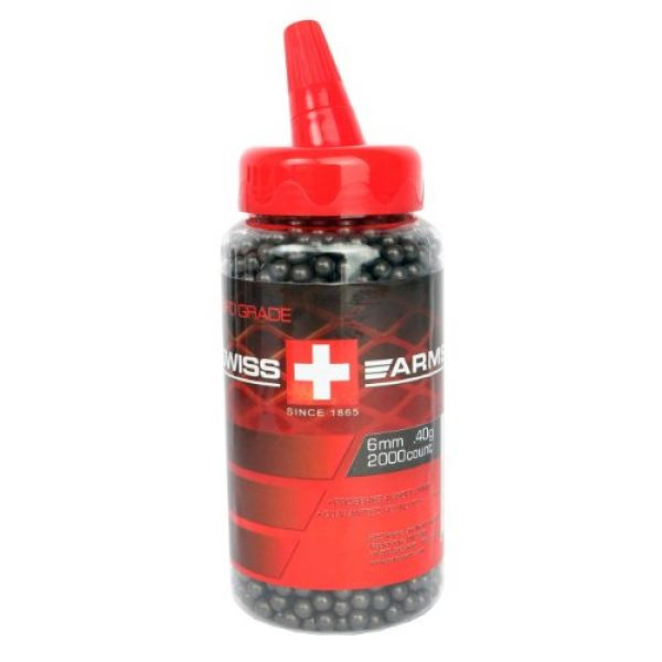Swiss Arms Airsoft BB 1 Swiss Arms Pro Grade BB with Feeder Lid