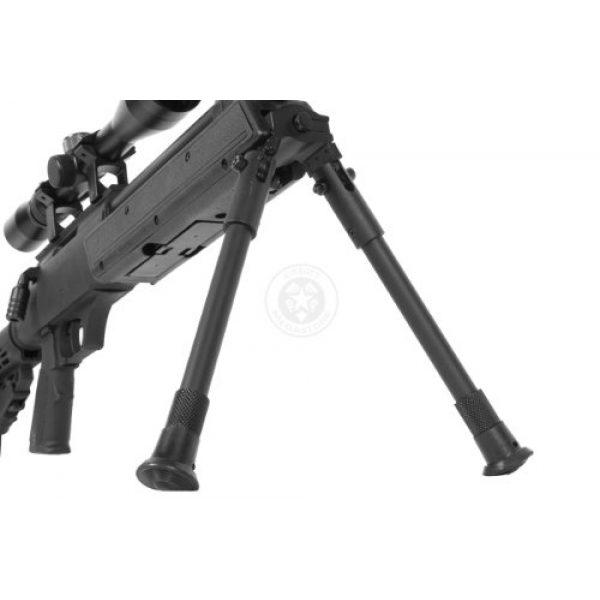 BBTac Airsoft Rifle 7 Wellfire aps sr-2 modular airsoft sniper rifle - scope & bipod - black(Airsoft Gun)