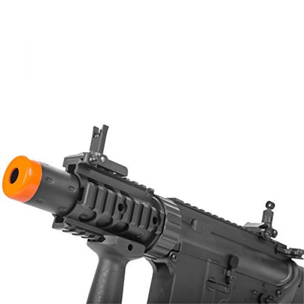 MetalTac Airsoft Rifle 5 MetalTac Electric Airsoft Gun M4 CQB 02 A&K with Full Metal Body, Metal Gearbox Version 2, Full Auto AEG, Upgraded Powerful Spring 380 Fps with .20g BBS