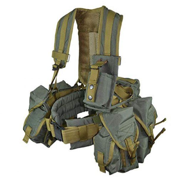 RedBear Airsoft Tactical Vest 3 Tactical Vest Harness Sbruya Partisan Spetsnaz Belt System Replica
