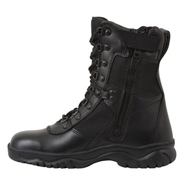 """Rothco Combat Boot 1 Forced Entry Tactical Boot with Side Zipper / 8"""""""