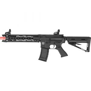 Valken Airsoft Rifle 1 Valken Battle Machine AEG V2.0 TRG-M (BLK)