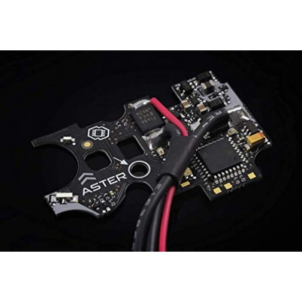 Gate Airsoft AEG MOSFET Module 1 Gate Aster V2 Airsoft Drop-in Programmable MOSFET Module (Type: Basic Firmware/Rear Wired)