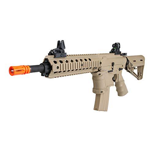 BULLDOG AIRSOFT  1 Bulldog ST Delta QD Airsoft Electric AEG Rifle - Tan