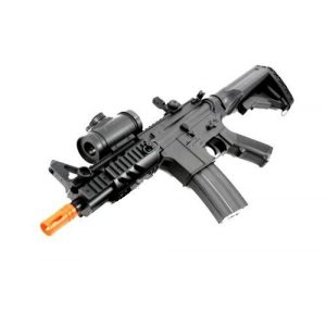 Double Eagle Airsoft Rifle 1 2011 315-fps Airsoft Rifle m16/m4 Style red dot Version 1 1 Double Eagle cqb 614 aeg Full auto Rifle Electric Airsoft Gun Airsoft Rifle Gun Assault Rifle Gun(Airsoft Gun)
