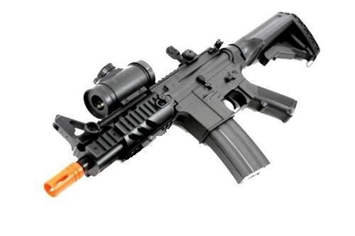 Double Eagle  1 2011 315-fps Airsoft Rifle m16/m4 Style red dot Version 1 1 Double Eagle cqb 614 aeg Full auto Rifle Electric Airsoft Gun Airsoft Rifle Gun Assault Rifle Gun(Airsoft Gun)