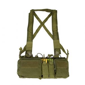 Shefure Airsoft Tactical Vest 1 Shefure CS Match Wargame TCM Chest Rig Airsoft Tactical Vest Military Pack Magazine Pouch Holster Molle System Waist Men Nylon
