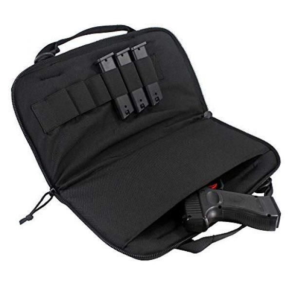 Depring Pistol Case 2 Depring Attache Pistol Case Tactical Padded Handgun Rug Shooting Range Gun Bag