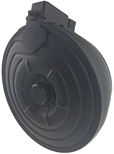 SportPro  3 SportPro CYMA 2500 Round Metal Electric Drum Magazine for AEG AK47 AK74 Airsoft - Black