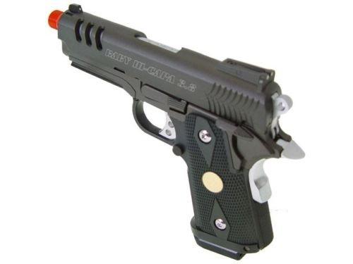 Well  4 Well bolt action sniper airsoft rifle we metal gas CO2 blowback gun 5