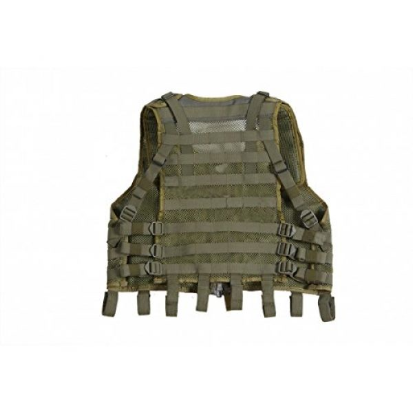SSO/SPOSN Airsoft Tactical Vest 2 SSO/SPOSN Russian Military Vest Universal Base MOLLE