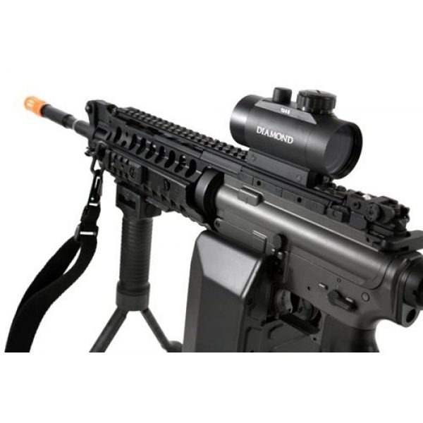 Jing Gong (JG) Airsoft Rifle 3 445 fps JG full metal gearbox m4 s-system custom aeg gunner - newest enhanced model(Airsoft Gun)