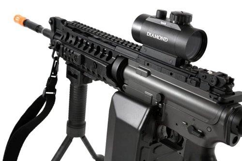 Jing Gong (JG)  3 445 fps JG full metal gearbox m4 s-system custom aeg gunner - newest enhanced model(Airsoft Gun)