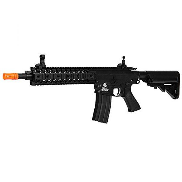 """Lancer Tactical Airsoft Rifle 2 Lancer Tactical LT-12B 10"""" Free Float Rail M4 Aeg Metal Gear Airsoft Gun Gear Airsoft Rifle Shooting Gun Machine"""