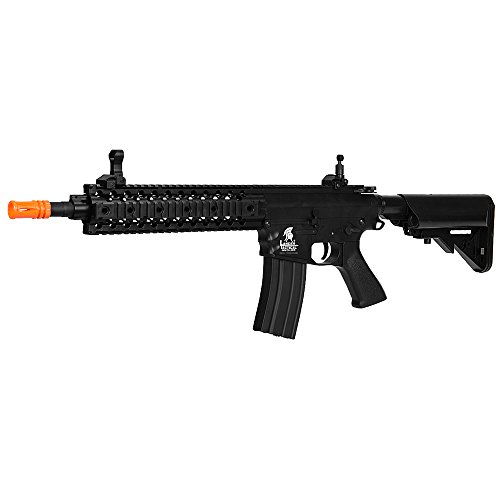 "Lancer Tactical  2 Lancer Tactical LT-12B 10"" Free Float Rail M4 Aeg Metal Gear Airsoft Gun Gear Airsoft Rifle Shooting Gun Machine"