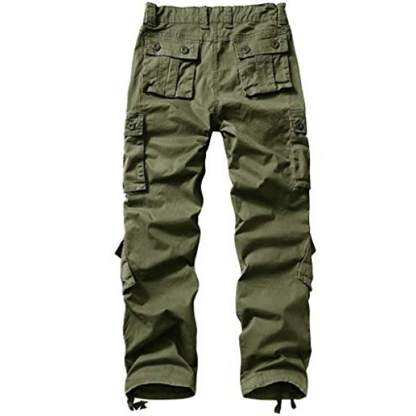 TRGPSG Tactical Pant 2 TRGPSG Women's Casual Ripstop Military Work Trousers, Multi-Pocket Outdoor Army Combat Cargo Pants 3209 ArmyGreen