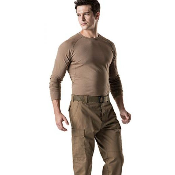 CQR Tactical Pant 5 Men's Tactical Pants, Military Combat BDU/ACU Cargo Pants, Water Repellent Ripstop Work Pants, Hiking Outdoor Apparel