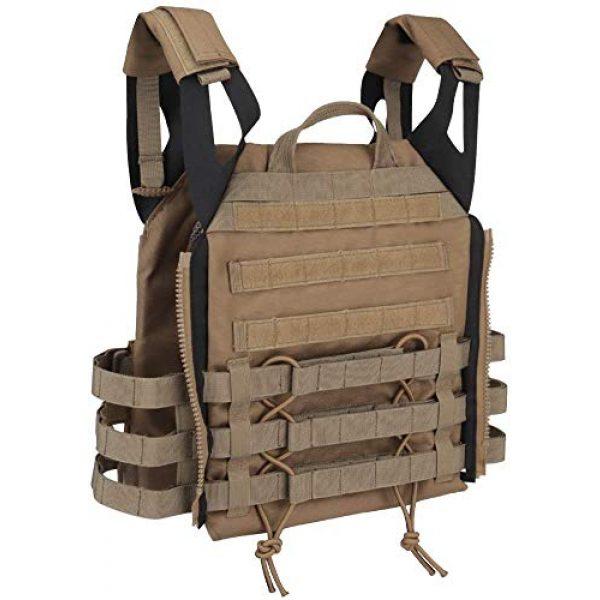 NICEFISH Airsoft Tactical Vest 3 NICEFISH Outdoor Tactical Expansion Protection JPC Vest Version 2.0 Amphibious Combat Vest