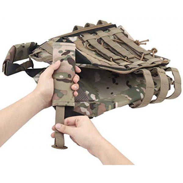 Kayheng Airsoft Tactical Vest 7 Kayheng Tactical Vest + Backpack/Modular Vest + Backpack/Breathable Combat Training JPC Vest Adjustable Lightweight MOLLE Vest