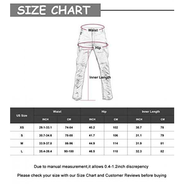 LANBAOSI Tactical Pant 7 Men's Tactical Military BDU Pants Combat Woodland Camo Outdoor Gear Trousers