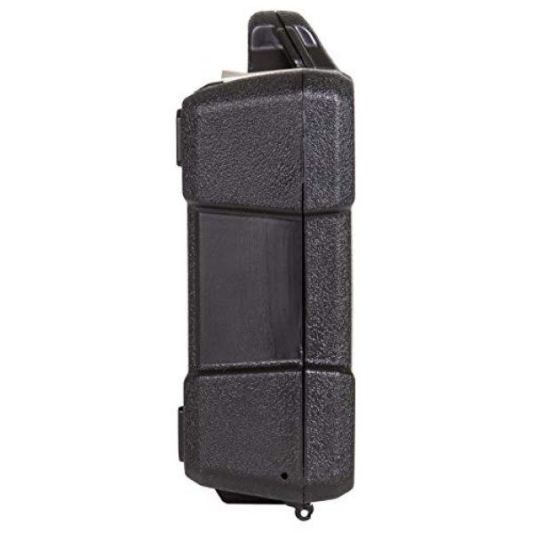 "Flambeau Outdoors Pistol Case 5 Flambeau Outdoors 35DWS Safe Shot Double Wall Single Pistol Case 12"", Portable Firearm Storage Accessory, Black"