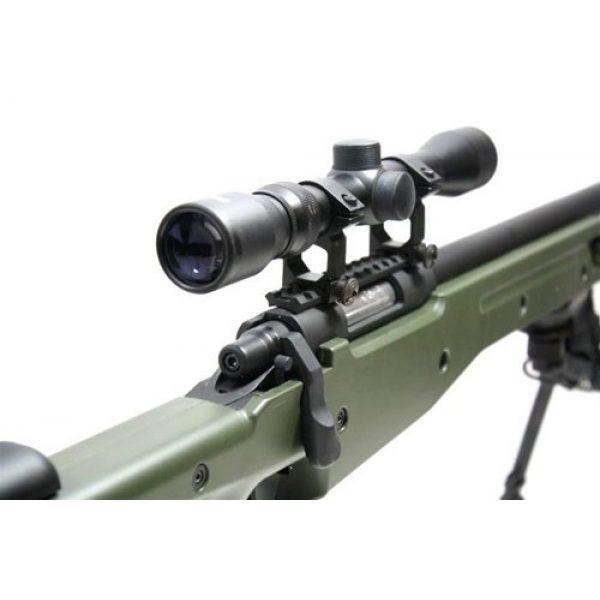 BBTac Airsoft Rifle 7 BBTac BT-96 Bolt Action Sniper Rifle w/ 3-9x Scope and Bipod - OD GREEN