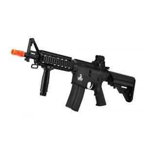 Lancer Tactical Airsoft Rifle 1 Lancer Tactical AEG Airsoft Electric MK18 Mod 0 M4 CQB RIS (Black Gen 2)
