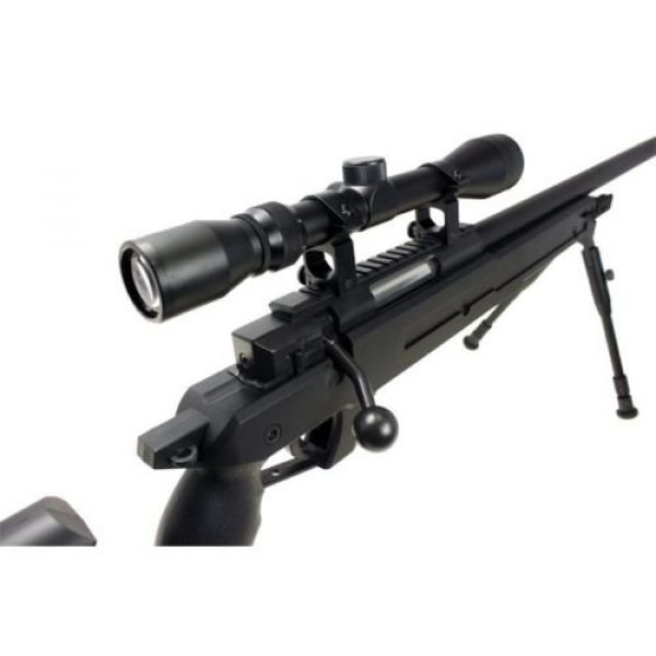 Well Airsoft Rifle 7 Well awn aps2 airsoft sniper rifle bi-pod scope 3,300 .30g bb's extra magazine(Airsoft Gun)