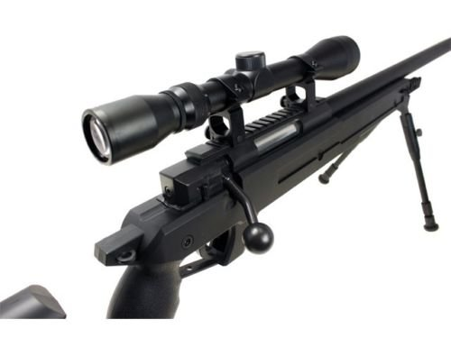 Well  4 Well awn aps2 airsoft sniper rifle bi-pod scope 3