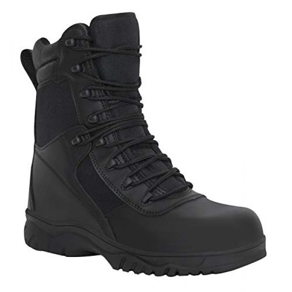 Rothco Combat Boot 2 8 Inch Forced Entry Tactical Boot with Side Zipper & Composite Toe