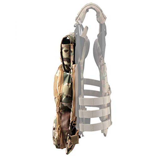 OAREA Airsoft Tactical Vest 3 OAREA TMC Multicam Pouch Bag Zip Panel NG Version for 16-18 AVS JPC2.0 CPC Tactical Vest