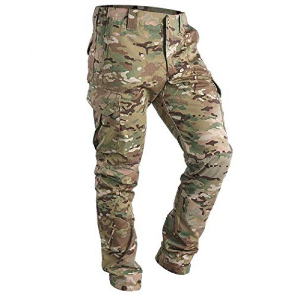 IDOGEAR Tactical Pant 1 GL Tactical Pants Multicam Combat Pants for Airsoft Military Hunting Paintball Outdoor Sports Slim Fit Style