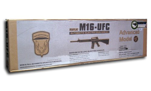 Jing Gong (JG)  3 jing gong m16 ufc airsoft electric gun jg6628(Airsoft Gun)