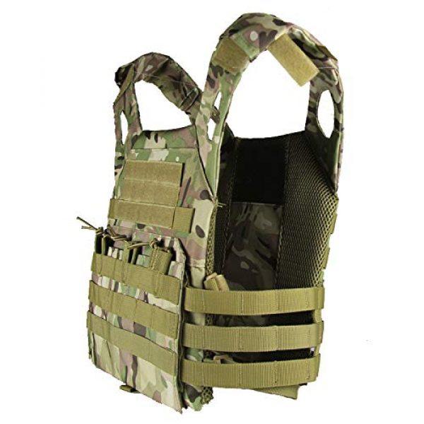 No! Airsoft Tactical Vest 3 No! JPC Vest Lightweight Tactical Vest Vest Multifunctional Outdoor Field CS Army Fan Vest