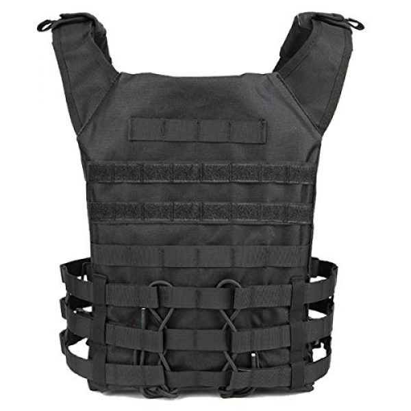 KIDYBELL Airsoft Tactical Vest 2 KIDYBELL Tactical Molle Vest Breathable Combat Training Vest 1000D Oxford Cloth Outdoor Activity Air Soft Vest Sports Equipment Modular Vest