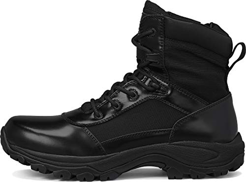 """Belleville Tactical Research TR Combat Boot 3 Belleville Tactical Research TR Men's Class-A TR906Z 6"""" Hot Weather High Shine Side-Zip Boot"""