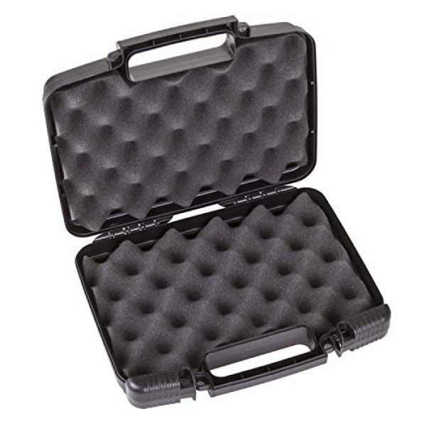 "Flambeau Outdoors Pistol Case 3 Flambeau Outdoors 1011 Safe Shot 10"" Pistol Pack Case, Portable Firearm Storage Accessory"