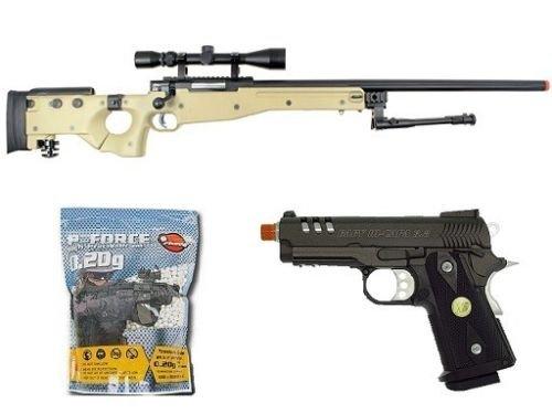 Well  1 Well bolt action sniper airsoft rifle we metal gas CO2 blowback gun 5