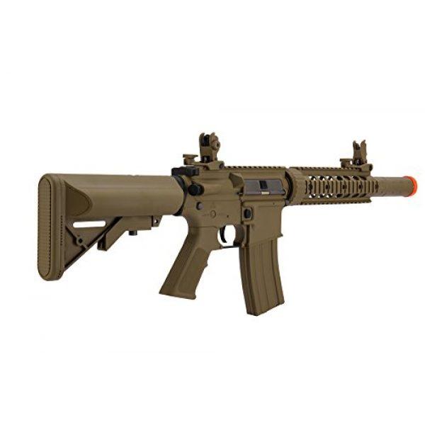 Lancer Tactical Airsoft Rifle 3 Lancer Tactical Airsoft M4 SD GEN 2 Polymer AEG - TAN