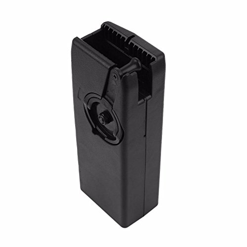 OAREA Airsoft BB Speed Loader 1 Oarea 1000rd Rounds Plastic BB Speed Loader M4 Hand Crank for Airsoft Paintball Military Quick Loader Hunting Gun Magazine