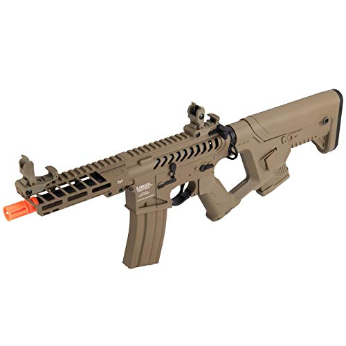 Lancer Tactical  4 Lancer Tactical Enforcer NEEDLETAIL Skeleton AEG Low FPS TAN