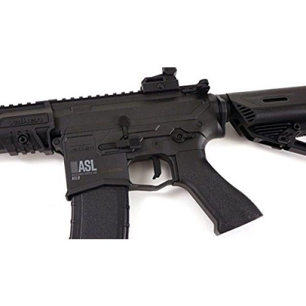 Valken Airsoft Rifle 4 Valken ASL Kilo M4 6mm AEG Airsoft Rifle - Black