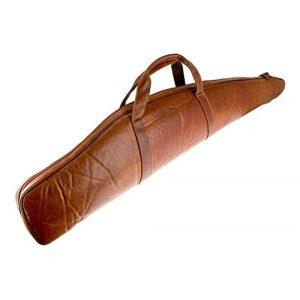 "Alpenleder Rifle Case 1 ALPENLEDER Gun Case ""Hunter"" | Made Of Buffalo Leather | Rifle Holster Shotgun Hunting Shooting"