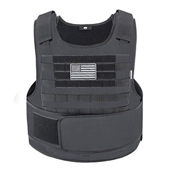 Snacam Airsoft Tactical Vest 1 Snacam Tactical Airsoft Vest Molle Vest